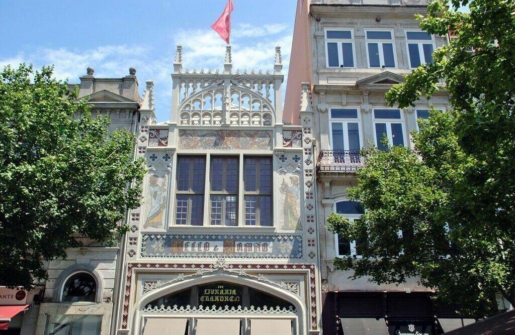 visita a la librería Lello & Irmao de Oporto