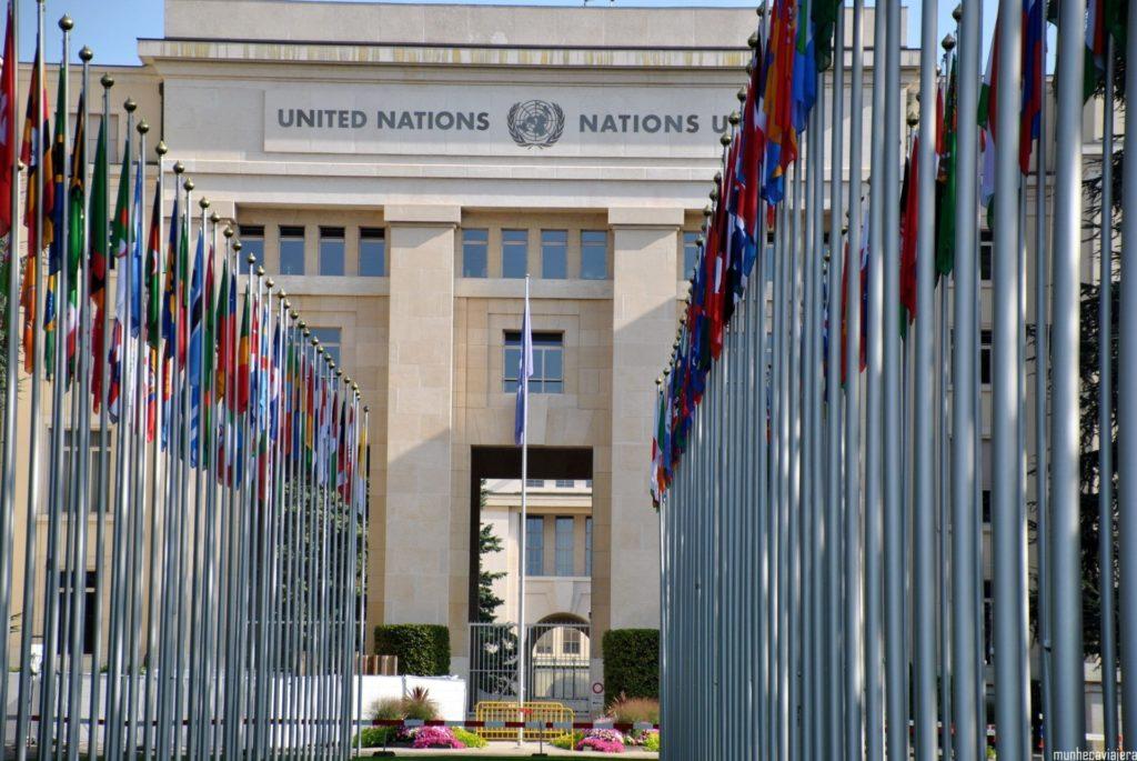 Edificio Naciones Unidas Ginebra