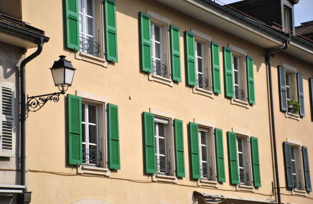 Todas las casas son así en Le Carouge