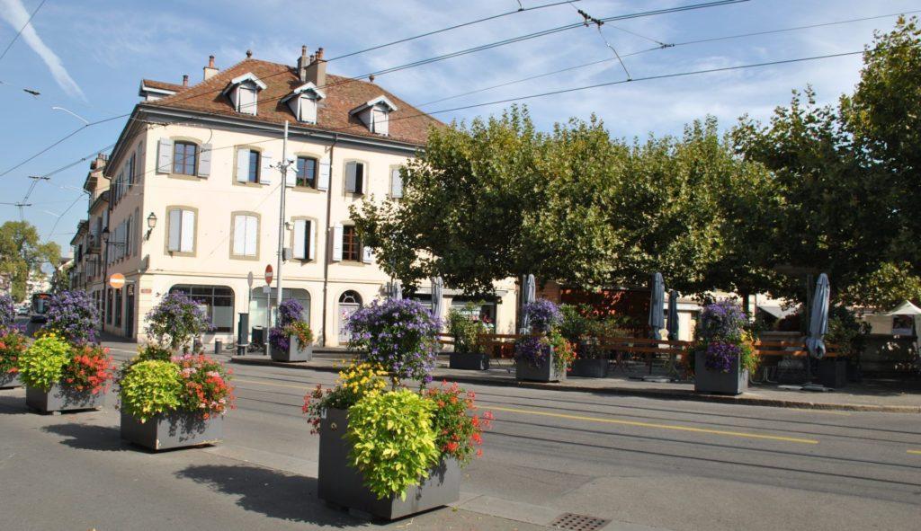 Le carouge, Ginebra