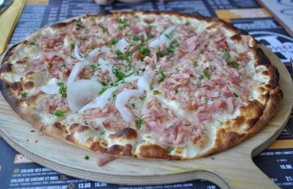 Flammekueche, especie de pizza