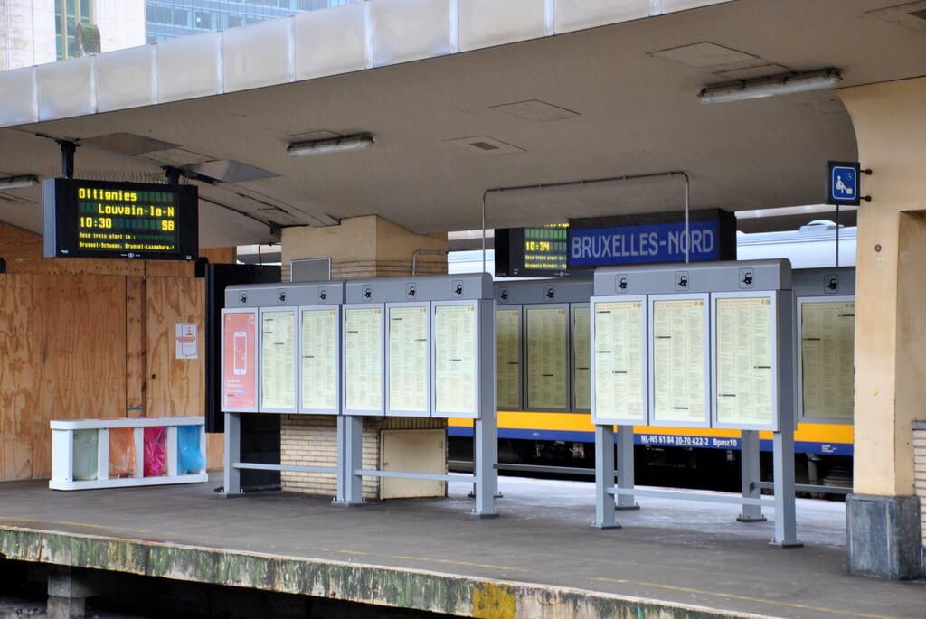 Estación Bruselas Norte