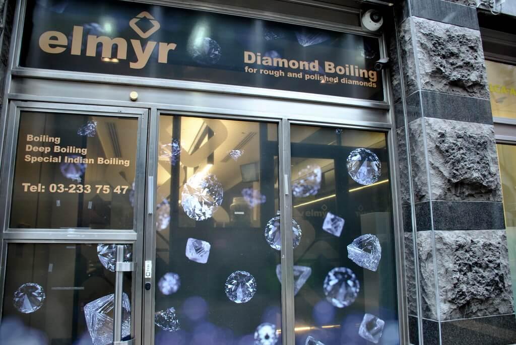 Establecimiento especializado en diamantes
