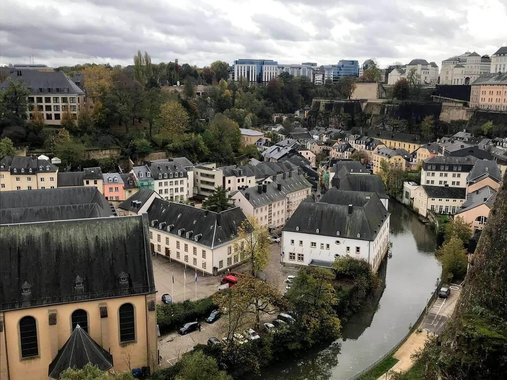 la villa baja de Luxemburgo