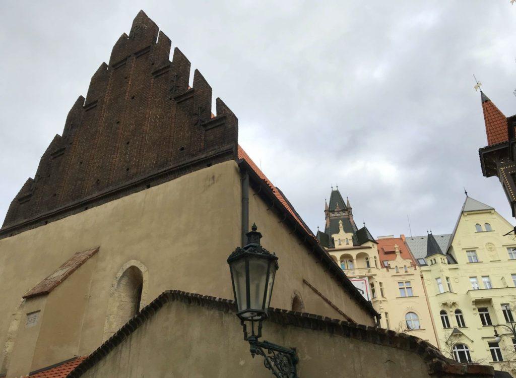 sinagoga vieja nueva de praga
