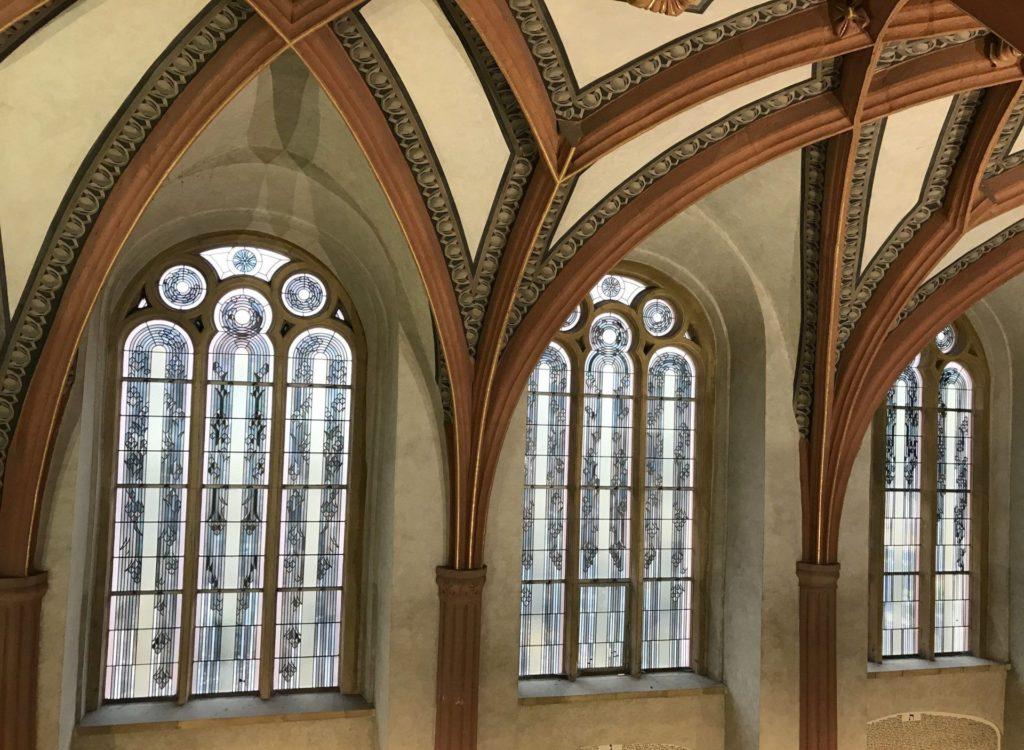 Interior Sinagoga Pinkas