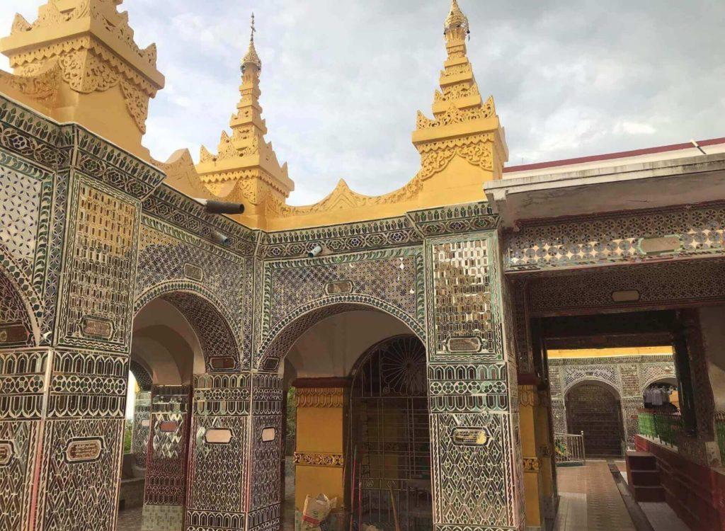 Sala de oración en la cima de la Mandalay Hill