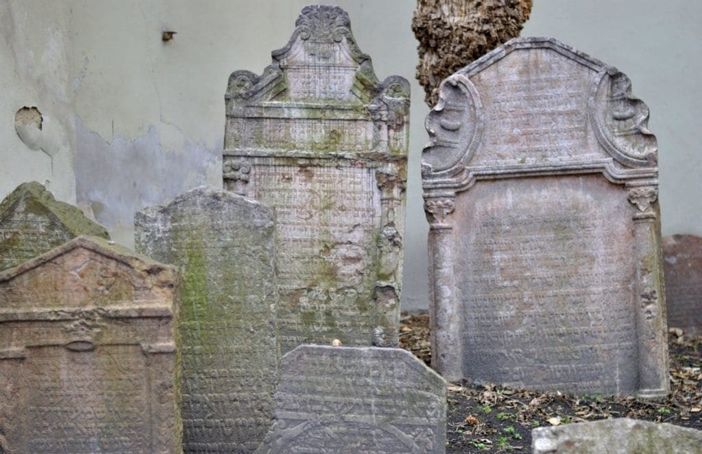josefov, el cementerio judío de praga