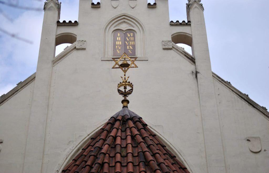 Fachada exterior Sinagoga Maisel