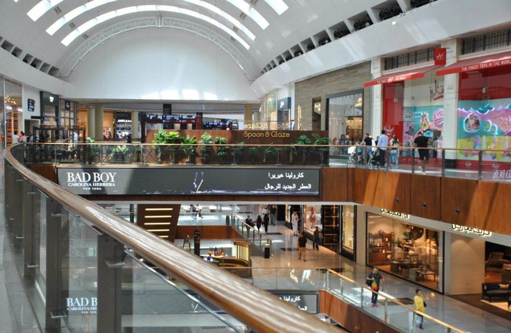Planta superior del Dubai Mall