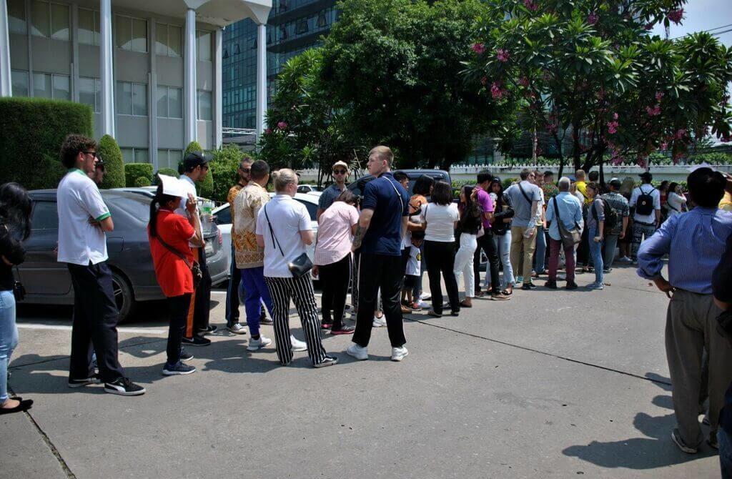 ver Muay Thai gratis en Bangkok