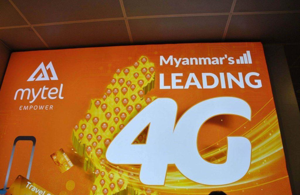 Tarjeta Sim en Myanmar