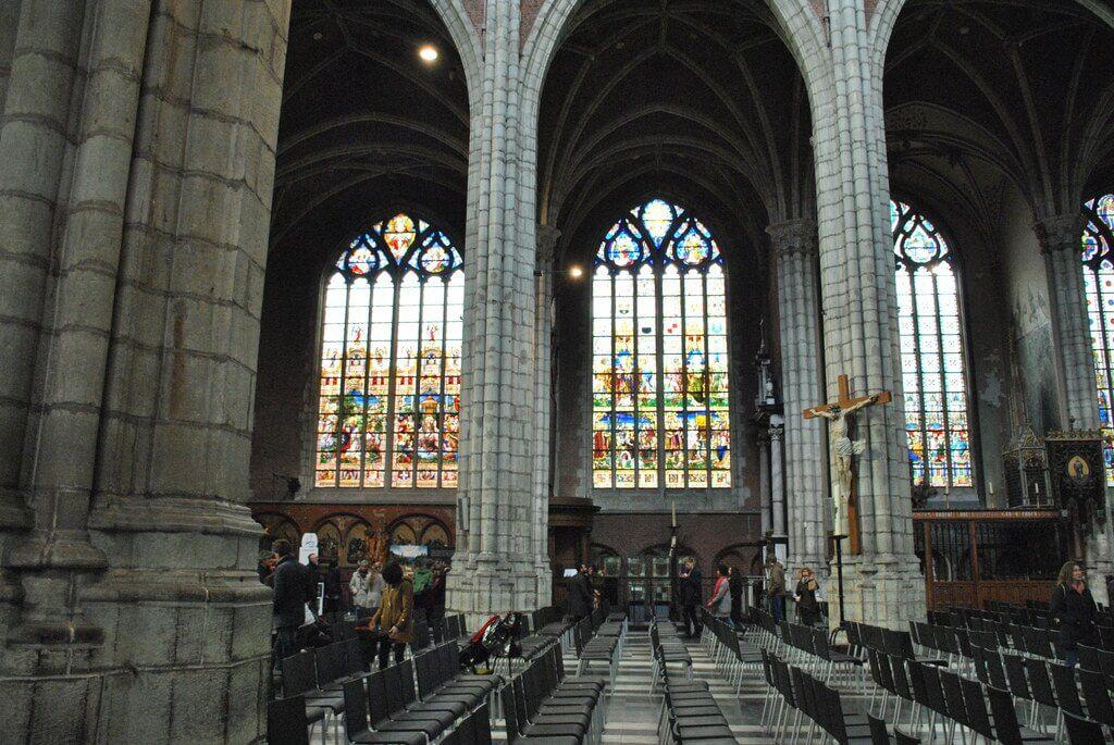 Interior Catedral de San Bavón