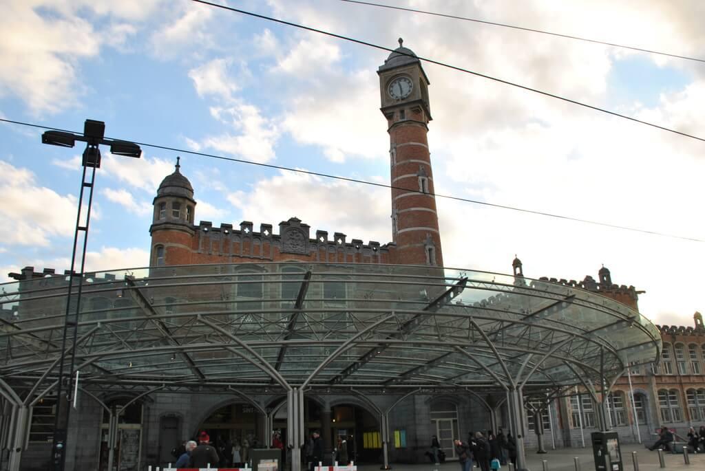 Estación central de trenes de Gante