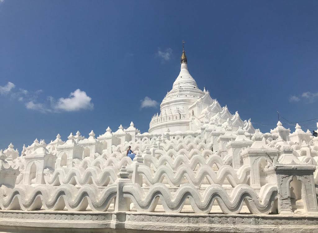En la Pagoda Hsinbyume