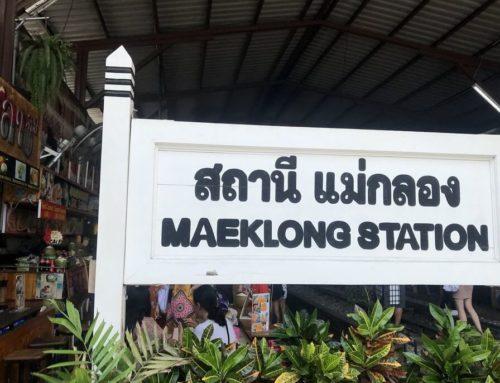 Mae Klong, el mercado de las vías del tren