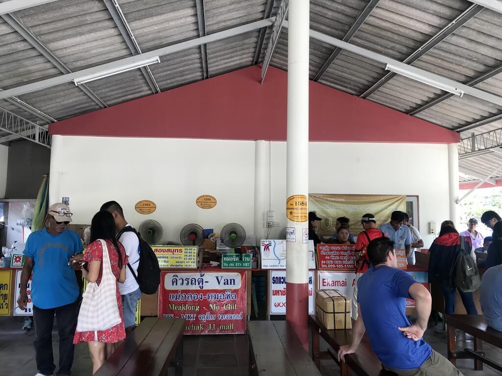 Estación de autobuses de Mae Klong