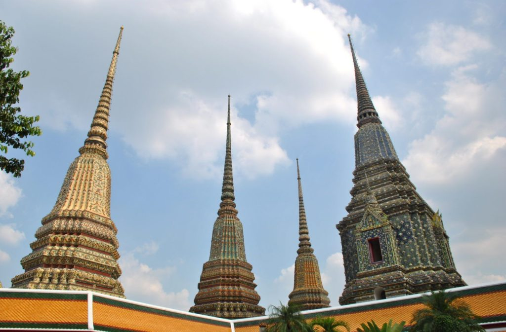 Estupas del Wat Pho
