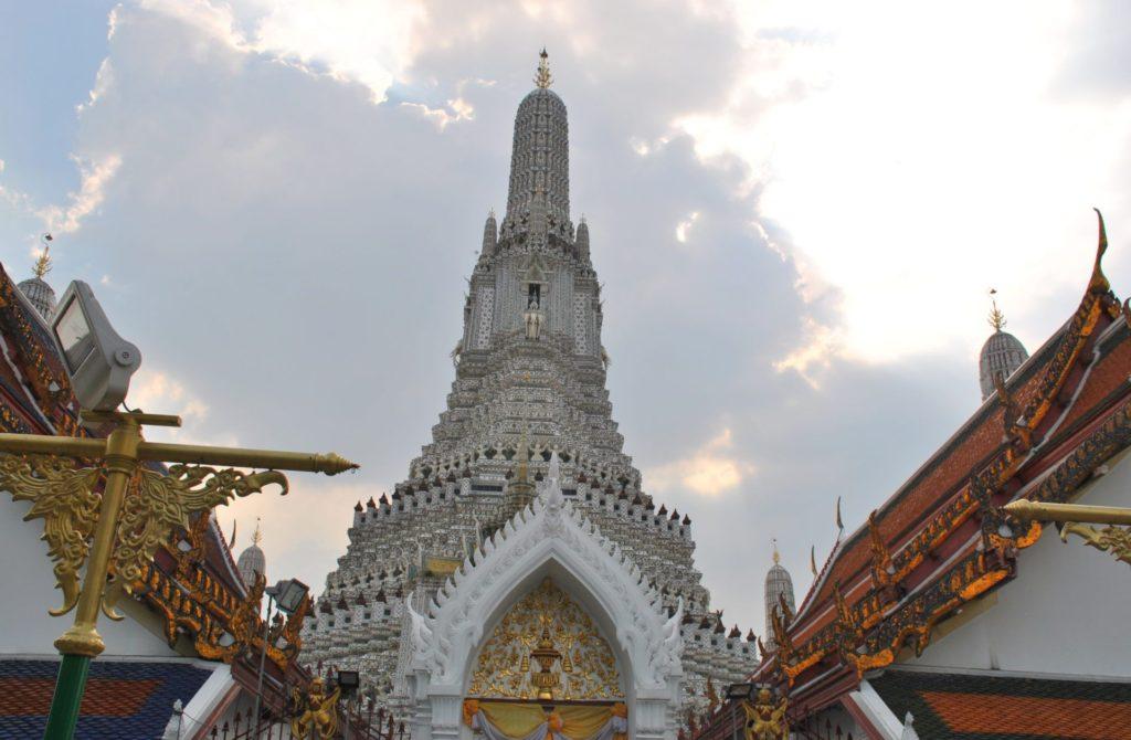 Estupa principal del templo