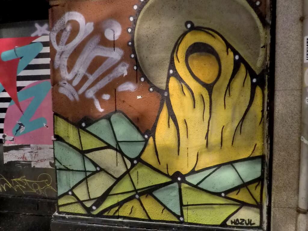 arte callejero en Oporto