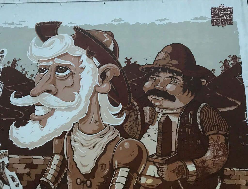 ruta por el arte callejero de Oporto