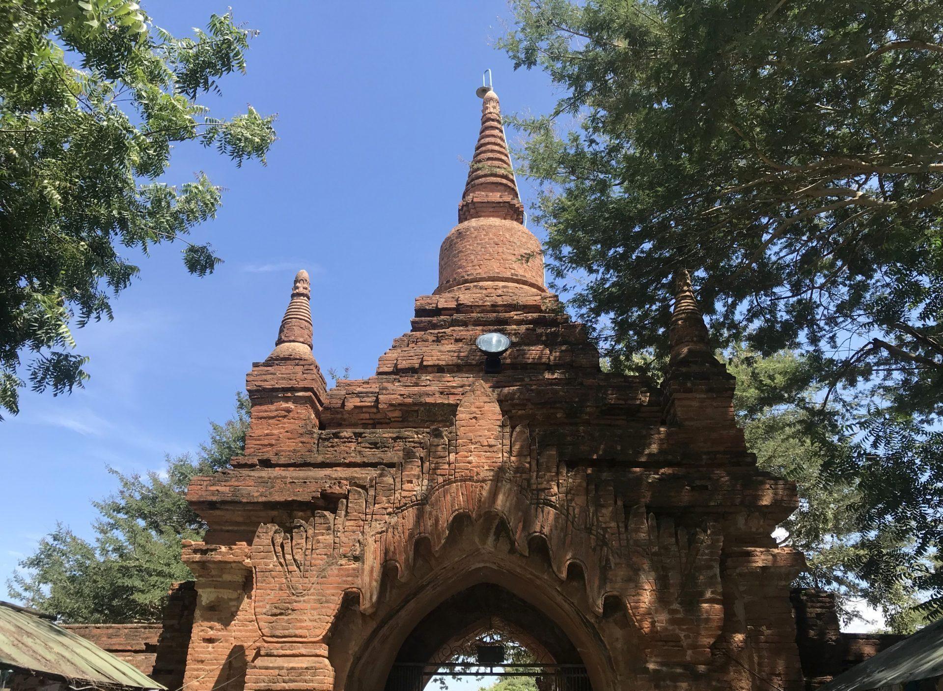 Puerta de acceso al templo