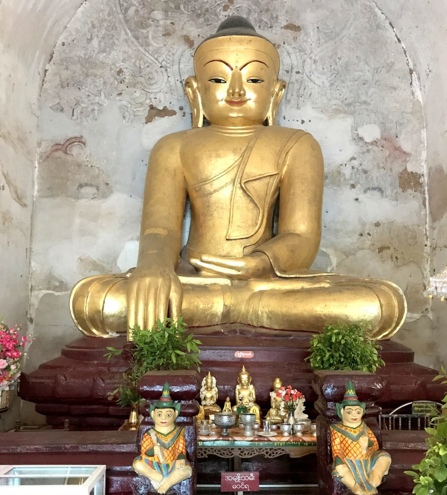 Altar con Buda
