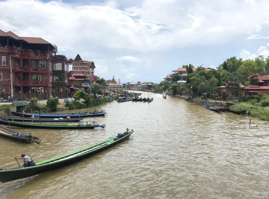Embarcadero de Nyaung Shew