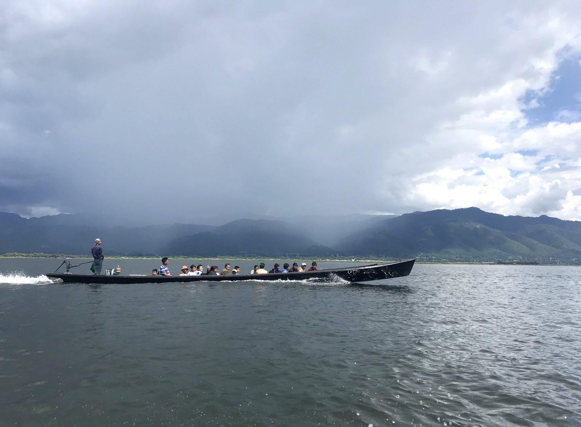 qué ver en el Lago Inle