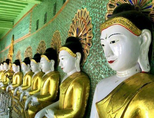 Excursión a Amarapura, Sagaing e Inwa desde Mandalay
