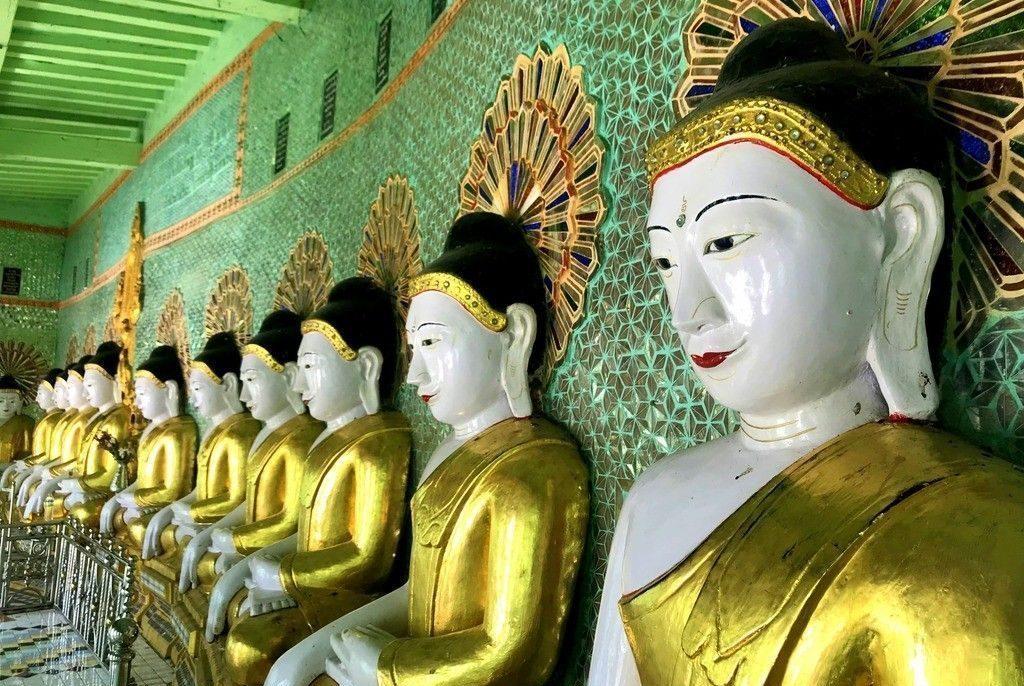Amarapura, Sagaing e Inwa desde Mandalay