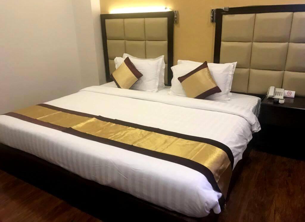 habitación del hotel Emperor Inle