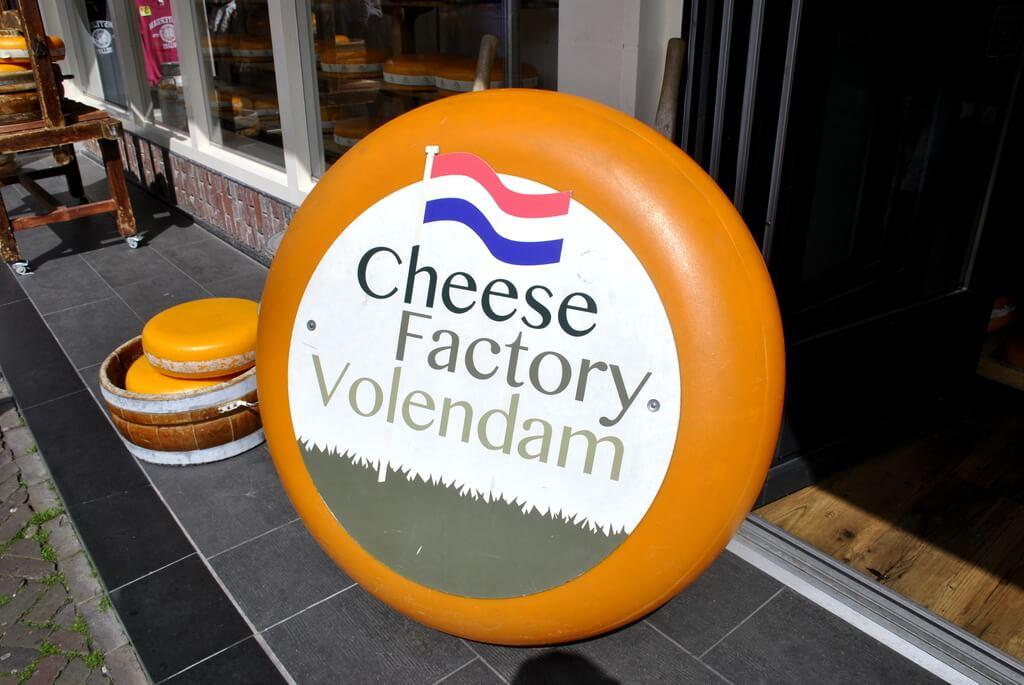 Fábrica de queso en Volendam