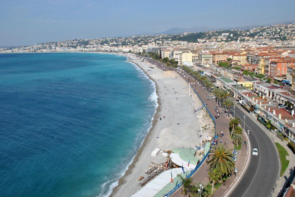 Panorámica de Niza desde la Colline du Château