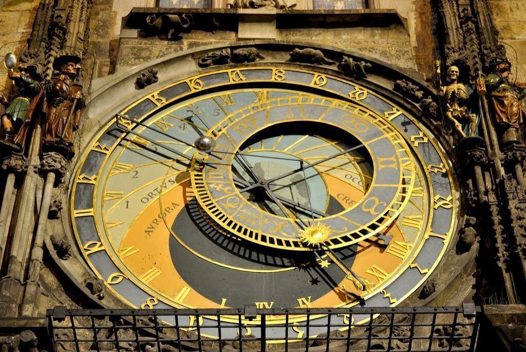 Detalle del Reloj Astronómico de Praga