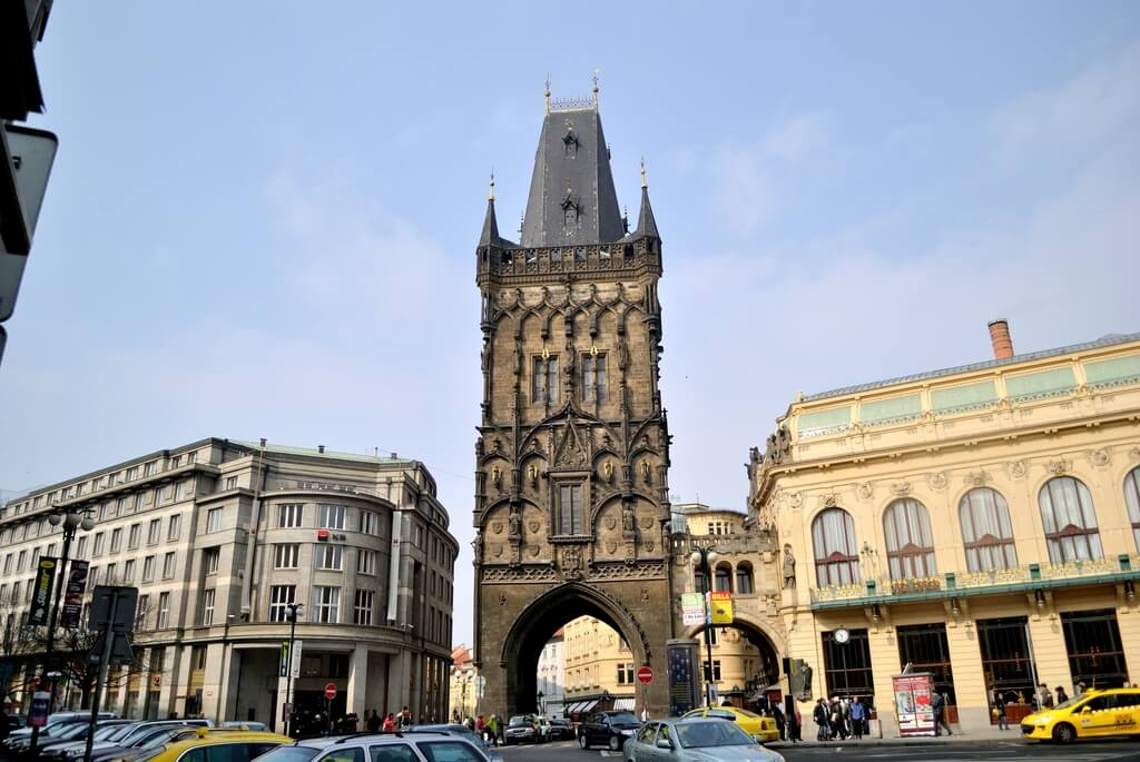 Torre de la Pólvora, Praga