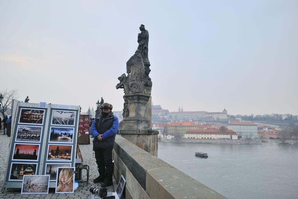 puente de carlos,Praga