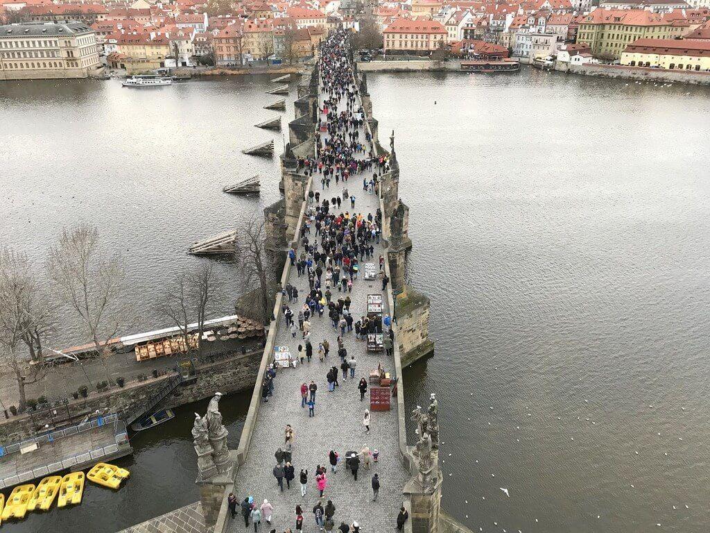 El Puente de Carlos desde la torre