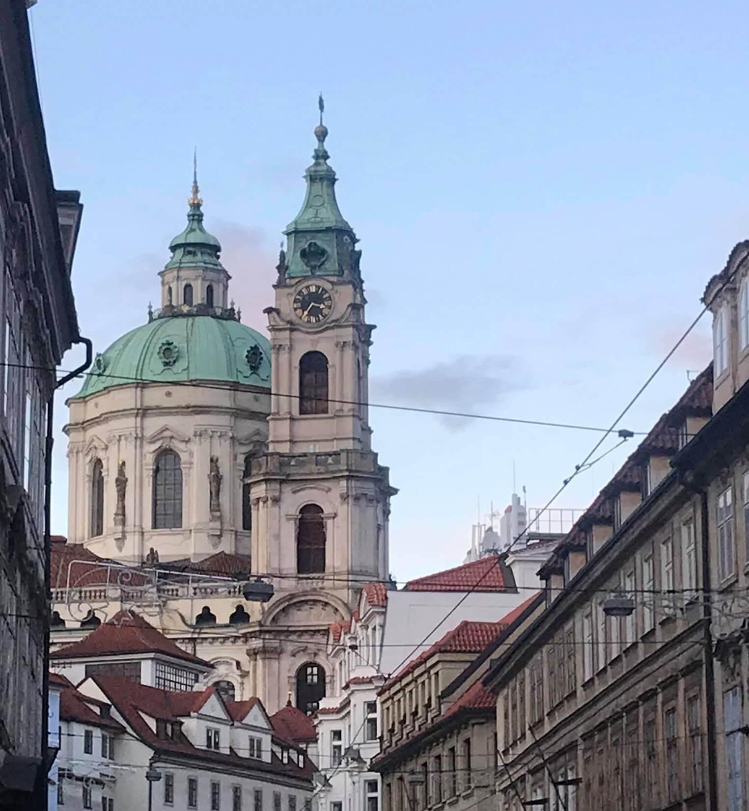 Iglesia de San Nicolás, en Malá Strana
