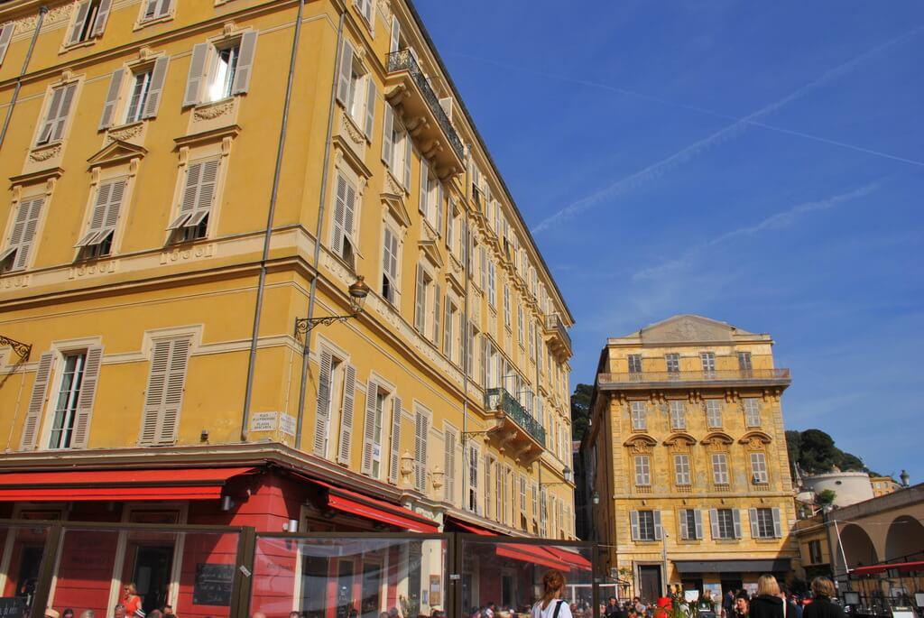 Edificios del Viejo Niza