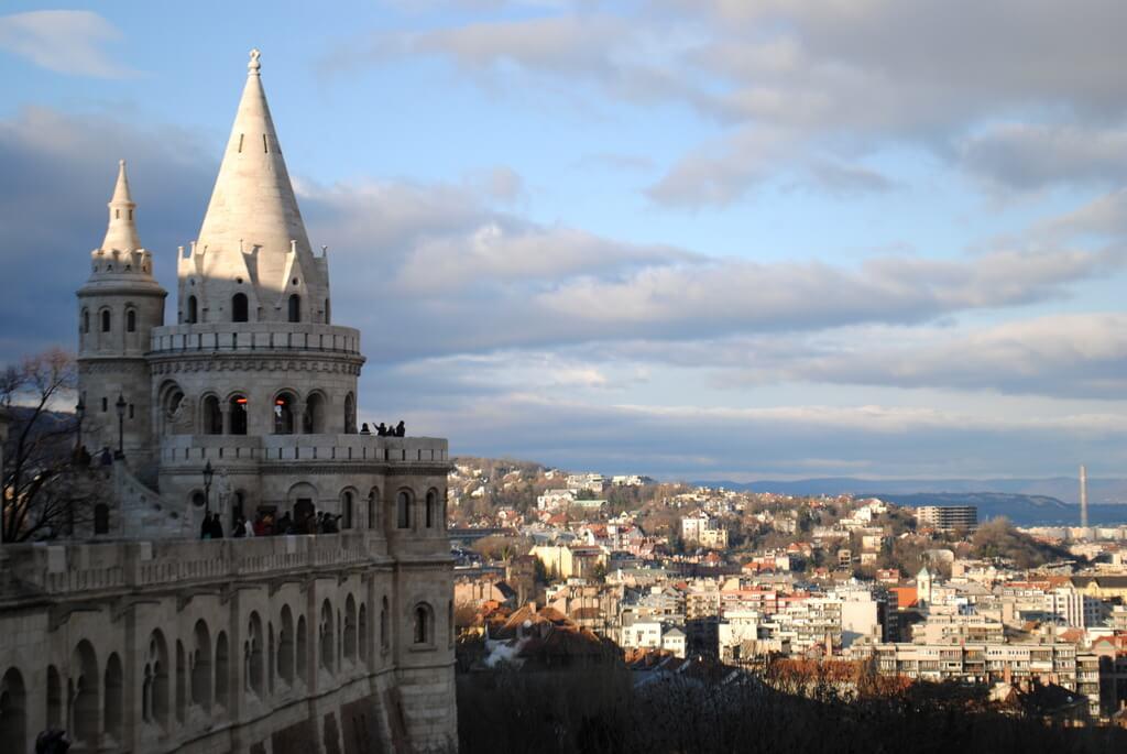 Una de las torres del Bastión