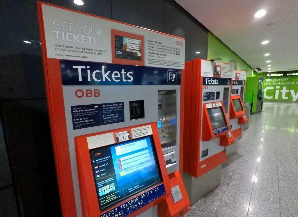 Máquinas de venta de billetes