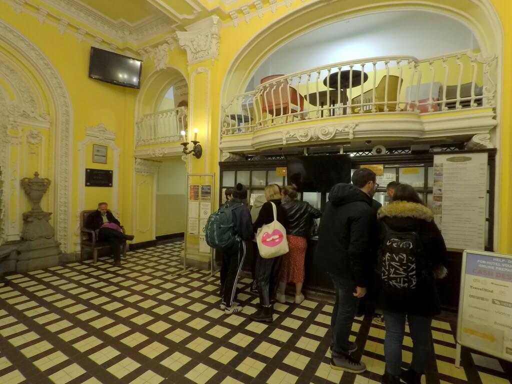 Taquilla de venta de tickets balneario Széchenyi