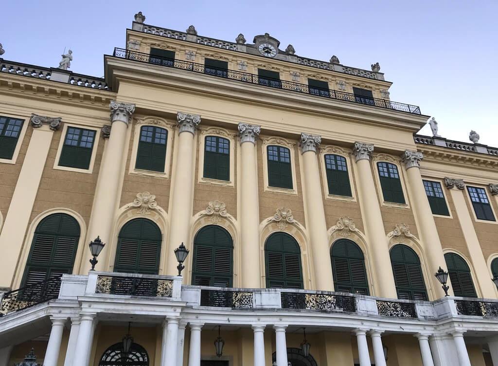 Fachada principal Palacio Schönbrunn