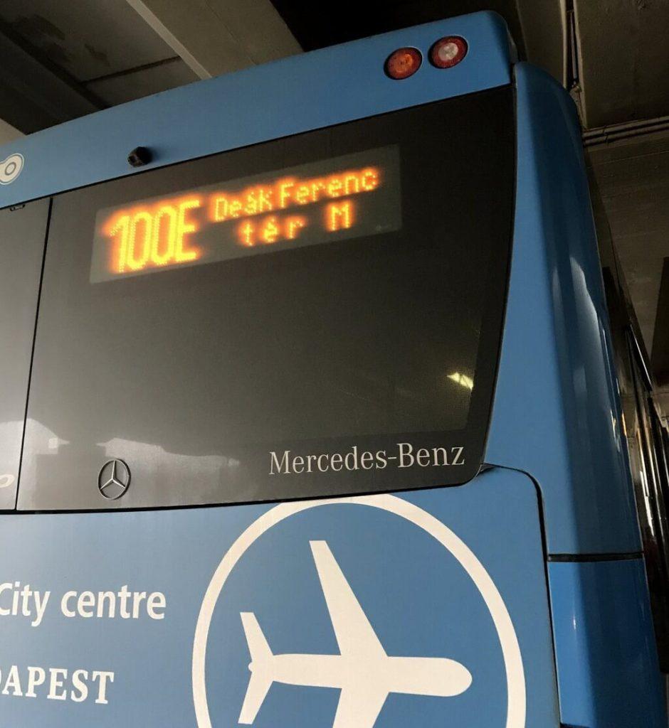 cómo ir del aeropuerto de Budapest al centro
