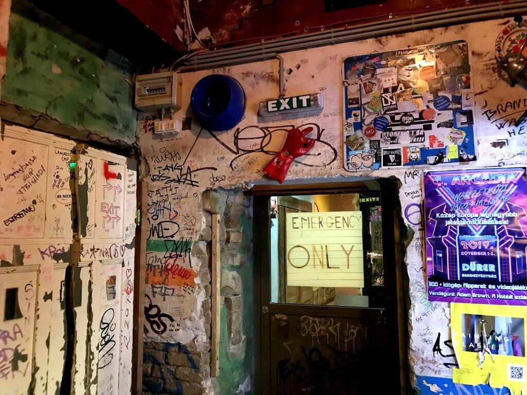 szimpla Kert, el bar ruina más antiguo de Budapest
