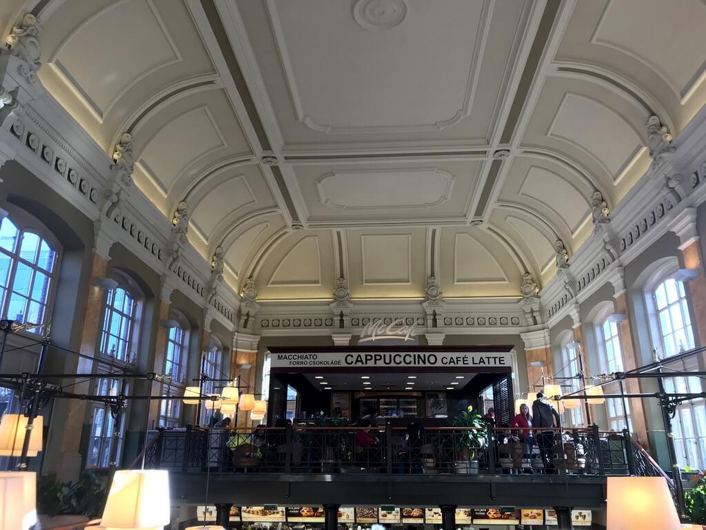 mc donald´s estación Nyugati