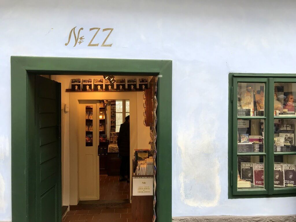 Casa donde vivió Kafka