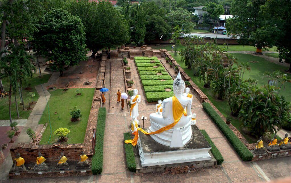 Vistas del templo desde las alturas