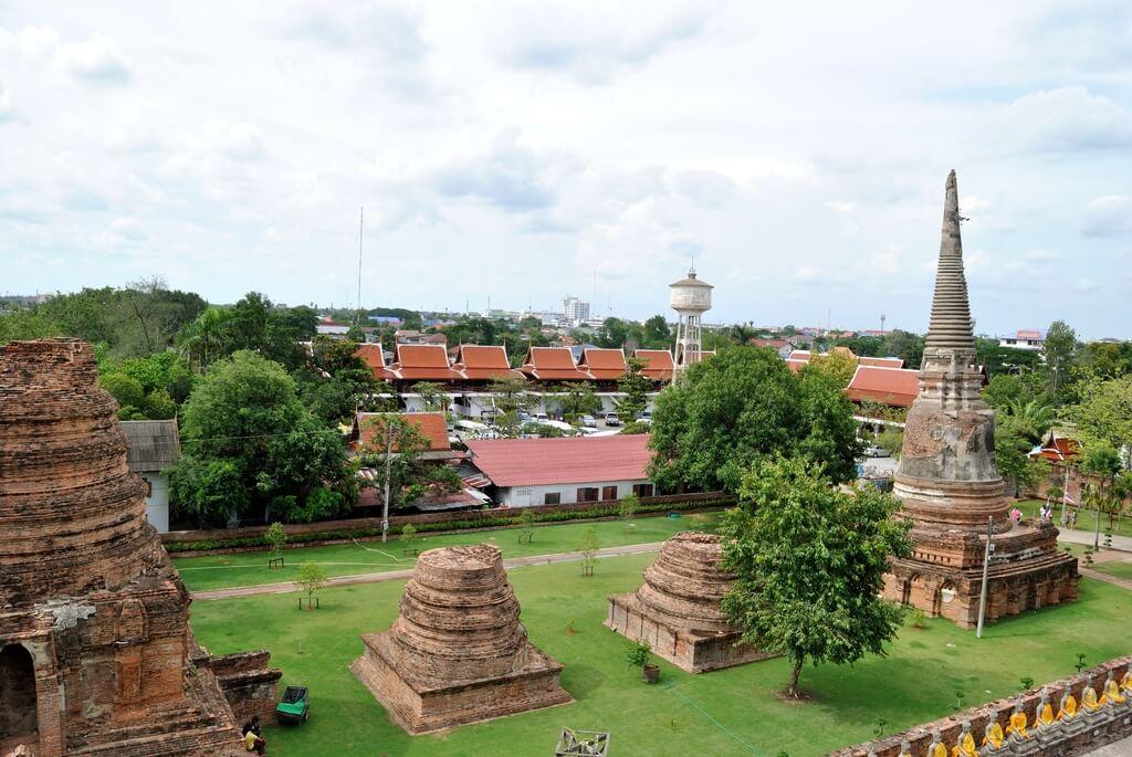 Ruinas de Ayutthaya reino de siam